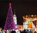 Новогодние мероприятия на площади Ленина пройдут с 25 декабря по 8 января