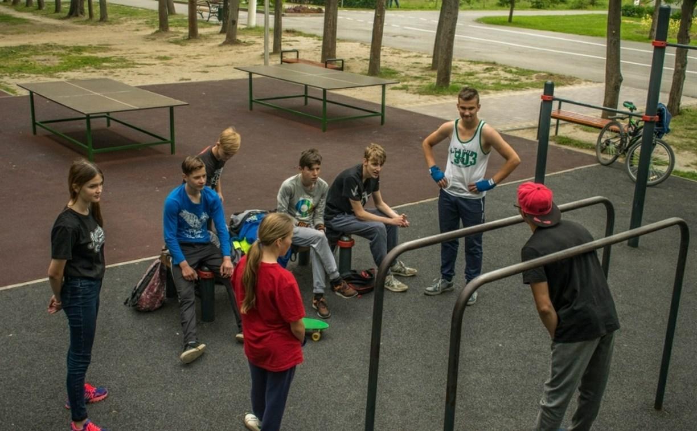 Туляков приглашают на открытые тренировки по воркауту