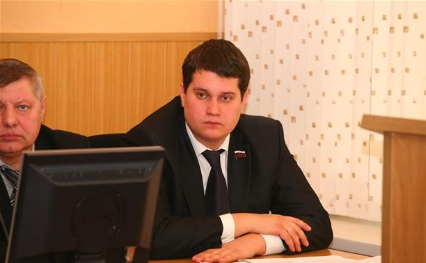 Алексей Лебедев досрочно сложил полномочия депутата Тульской городской Думы