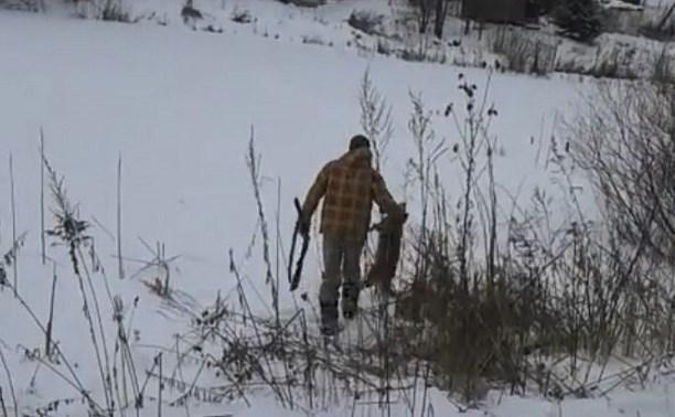 Туляк застрелил из ружья собаку, обезглавил её и заявил, что съест свою «добычу»