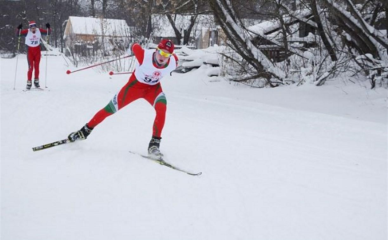 В Богородицке прошли соревнования по лыжным гонкам
