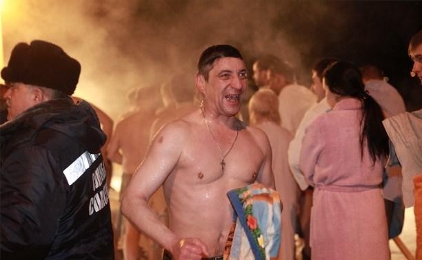 В ночь на Крещение в Туле будет морозно