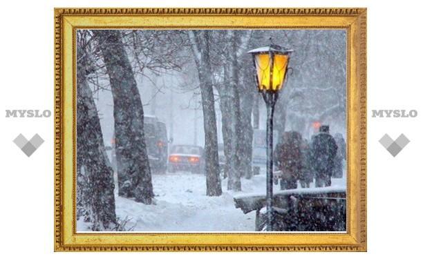 Тулу ждет снегопад и резкое потепление