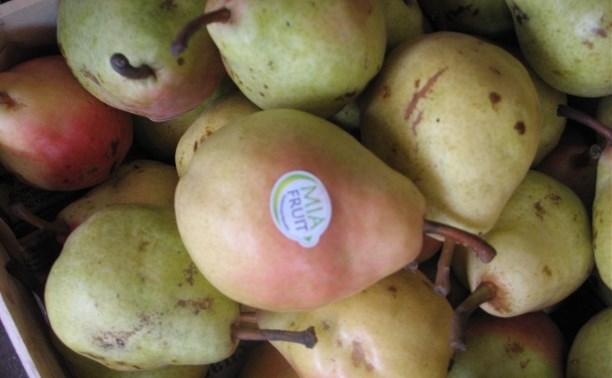 В Туле обнаружили санкционные груши и яблоки