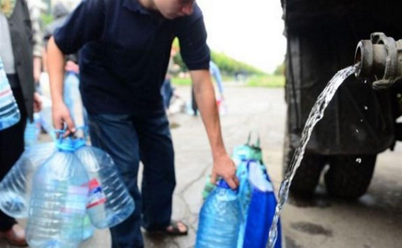 Масштабное отключение воды в Туле: жителям бесплатно раздают питьевую воду
