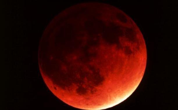 Сайт NASA начал прямую трансляцию «кровавой Луны»