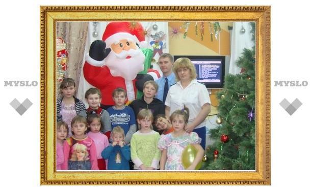 Тульская прокуратура поздравляет детей с Новым годом