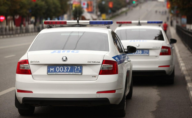 В Тульской области пьяная многодетная мать на «Фольксвагене» пыталась уйти от погони ДПС