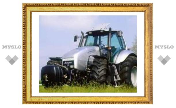 """Тульские фермеры пересели на """"Ламборджини"""""""