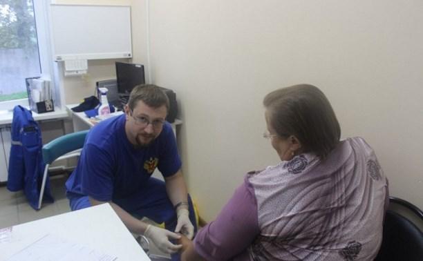 Московские врачи провели прием жителей в Ефремове и Каменском районе