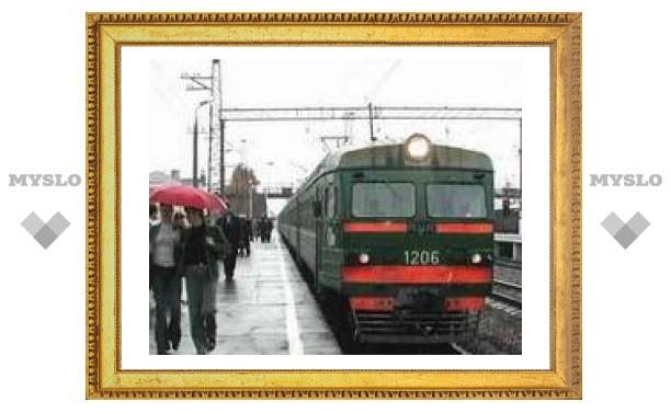 Тульские поезда меняют расписание