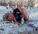 На въезде в поселок Рождественский произошло жуткое ДТП