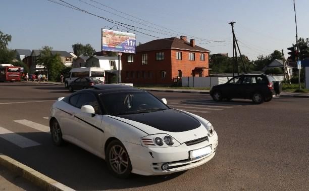 В Туле задержан неадекватный водитель
