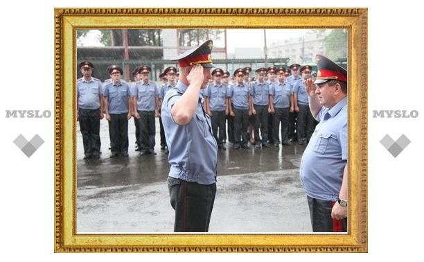 В Тульском филиале Московского университета МВД России отпраздновали выпуск