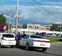 На Рязанке в Туле столкнулись Toyota и Opel: пострадал мужчина