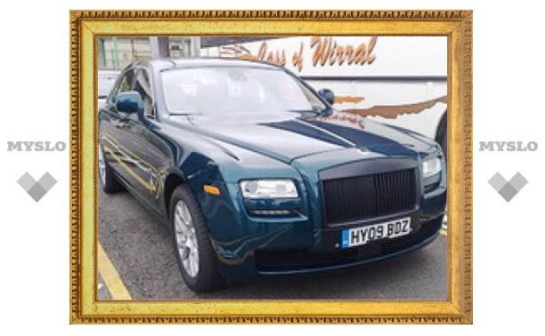 Фотошпионы рассекретили новый Rolls-Royce