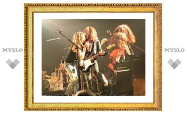 Ради поездки в Россию Aerosmith прервут работу над диском