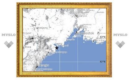 В ста километрах от Владивостока произошло мощное землетрясение