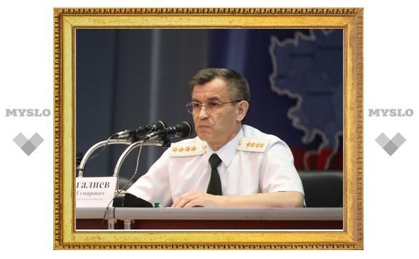 Рашид Нургалиев посетил Тулу с рабочим визитом