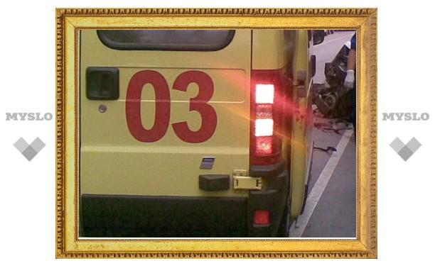 Убегая от полиции, житель Тульской области выпрыгнул с третьего этажа