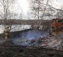 Семь пожарных расчётов тушили пожар в Киреевском районе