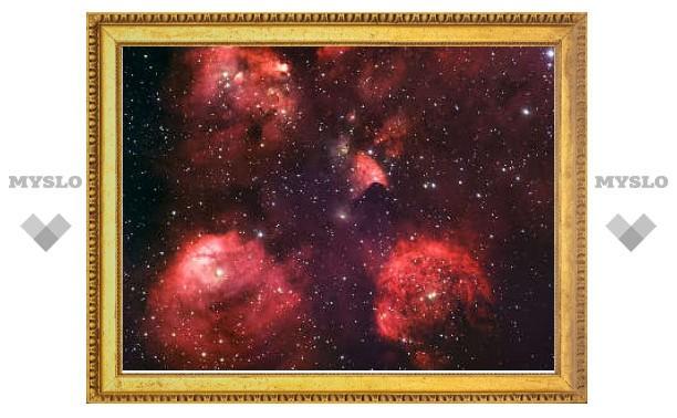 Астрономы сфотографировали кошачий след в космосе