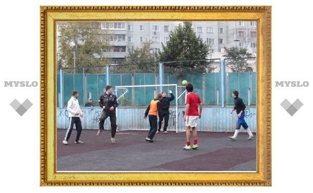 В Туле прошел третий тур «Дворовой футбольной лиги»