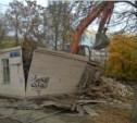 В Туле снесли жилой дом на остановке «Весна»