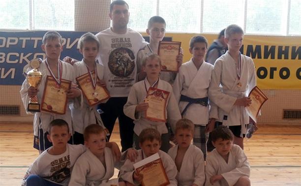 Юные тульские бойцы привезли медали из Подмосковья