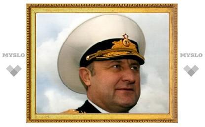 Медведев снял командующего Северным флотом