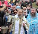 В Кимовском районе освятили место памяти Матроны