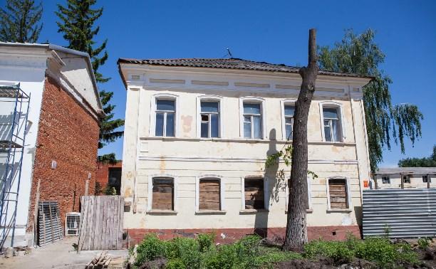 Фасады домов в музейном квартале Тулы отремонтируют к 1 июня
