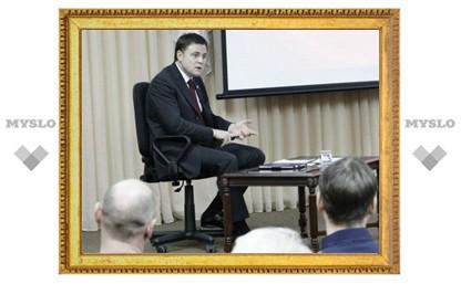 Туляки увидят, как земляки пообщались с губернатором