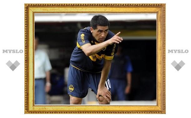 Марадона закрыл Рикельме дорогу в сборную Аргентины