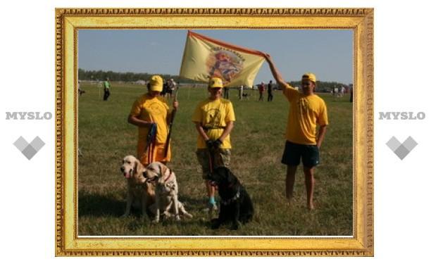 В Заокском районе проходит Всероссийская выставка охотничьих собак