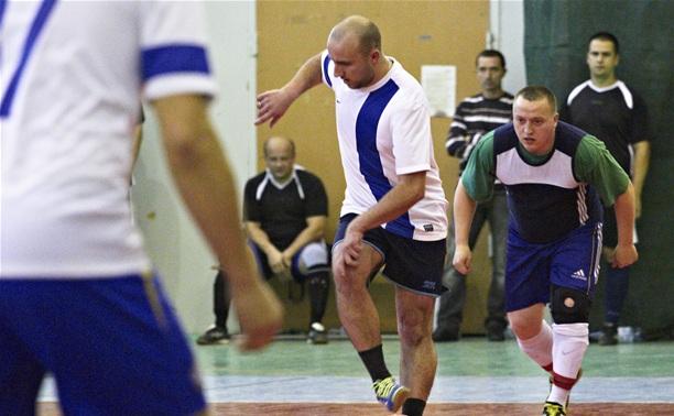 В Туле прошли очередные матчи в лигах любителей футбола