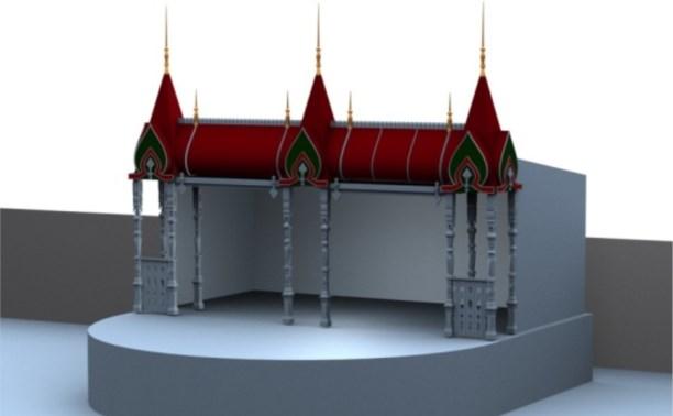 На площади Ленина в Туле откроется резиденция Деда Мороза