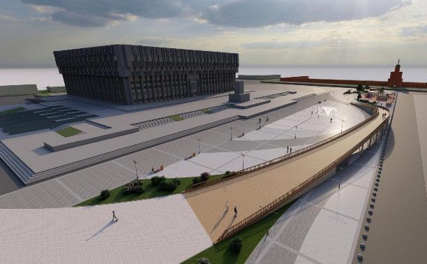 Студенты-архитекторы предложили сделать мост через площадь Ленина в Туле