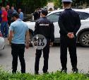 Оперативные мероприятия в центре Тулы: полиция задержала два автомобиля