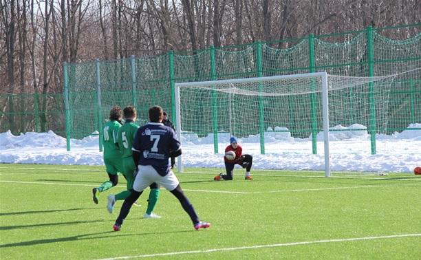 В Туле продолжается областной футбольный турнир «Снеговик»