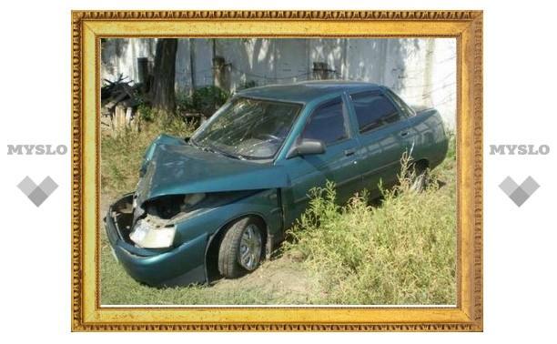 Под Щекином подростки неудачно «обмыли» новое авто