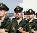 Тульские военнослужащие научной роты в Анапе принесли присягу