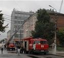 В центре Тулы ликвидирован крупный пожар