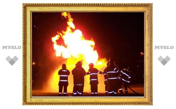 Под Тулой сгорел краеведческий музей