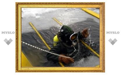 Тульские дайверы погрузятся под лед