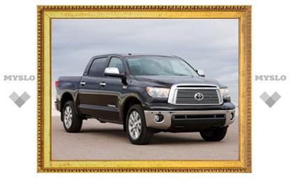 Компания Toyota объявила об отзыве двух пикапов Tundra