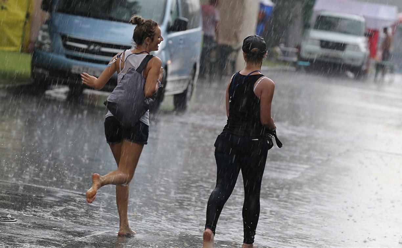 В воскресенье в Туле солнечно, но возможен дождь