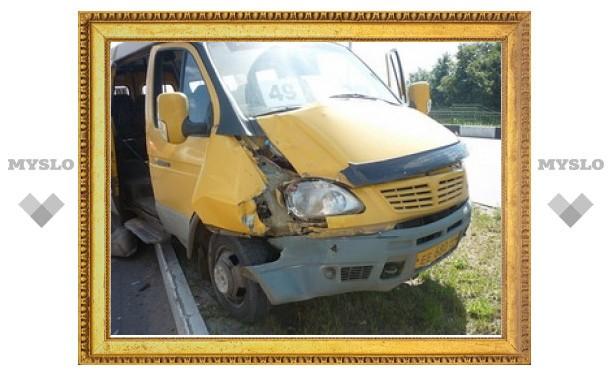 Пьяный автолайнщик стал виновником ДТП в Новомосковске