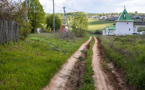 Жители Анастасово просят отремонтировать дорогу к одной из древнейших святынь России