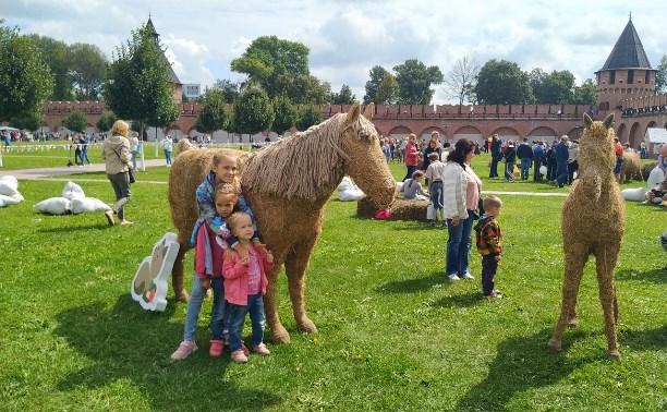 В Тульском кремле открылся фестиваль «День пряника»